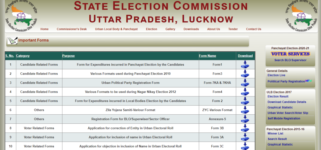 Gram Panchayat Voter List
