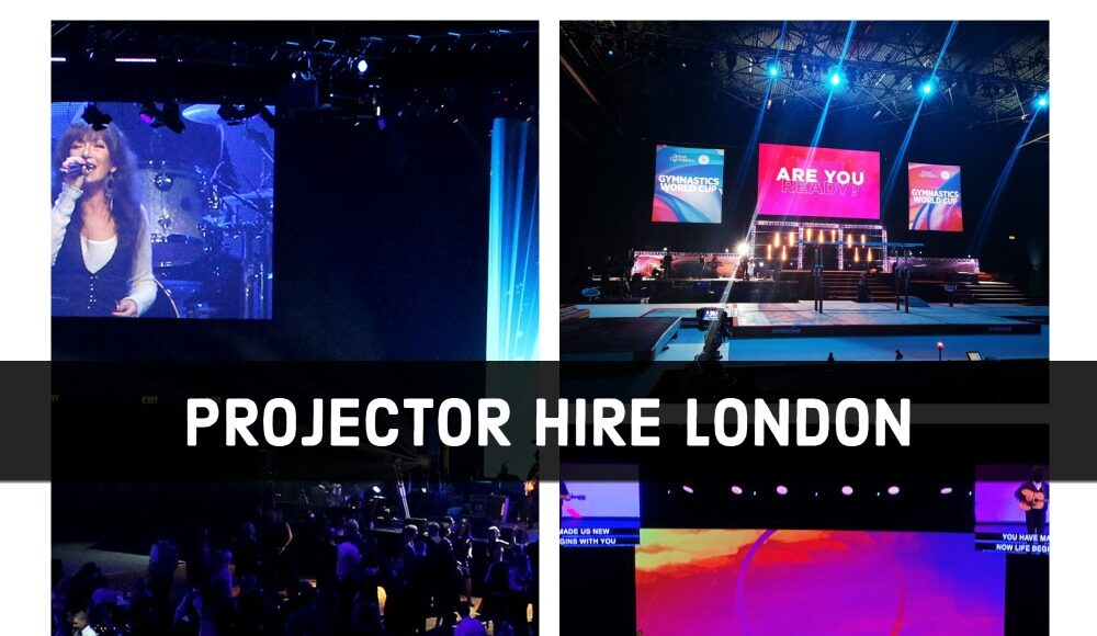 projector hire london