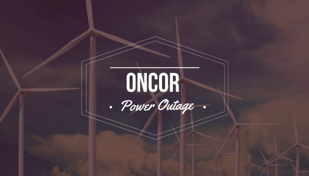 Oncor Power Outage